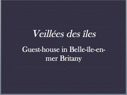 guest-house britany